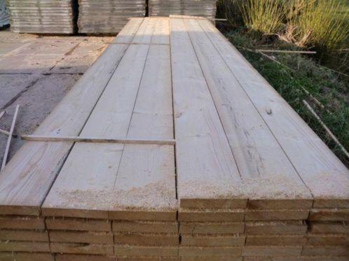 Vlonder maken van steigerhout