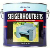 Hermadix Steigerhoutbeits Antraciet 2,5L