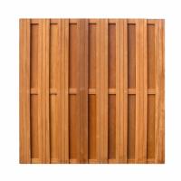 Hardhouten Tuinscherm – Schuttingdeel 15 planken