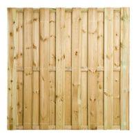 Grenen Tuinscherm 15-planks