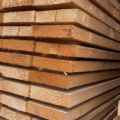 Vuren plank 32 x 125 mm | 232 cm lang