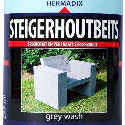 Hermadix Steigerhoutbeits Grey Wash 750ml