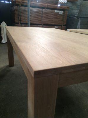 Eiken tafel 100 x 240 cm