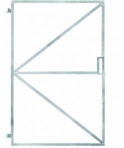 Verstelbaar Poortframe 100 x 180 cm met slotkast