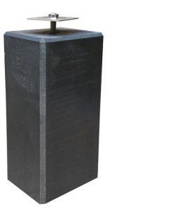 Betonpoer antraciet 220 x 220 mm x 50 cm (verstelbaar)