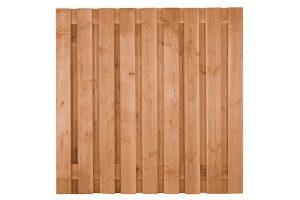 Douglas scherm ruw 180 x 180 cm 19-planks – 1150