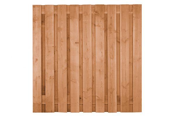 Douglas tuinscherm 17-planks 180x180cm