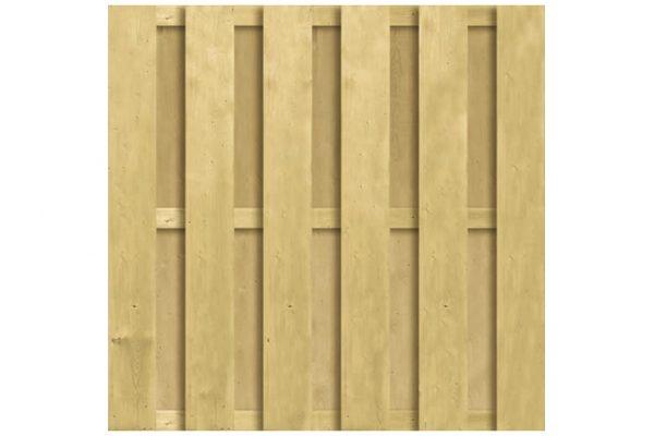 CarpGarant Vuren scherm ruw 180 x 180 cm 1252