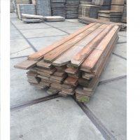 Azobe damwand plank 40×180-300x4000mm per m2