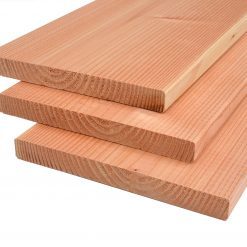 Douglas plank 25 x 240 mm geschaafd