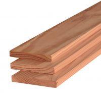 Douglas plank 16×140 mm geschaafd
