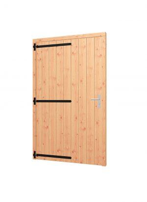 Opgeklampte deur XL enkel, kozijn 1335x2170mm