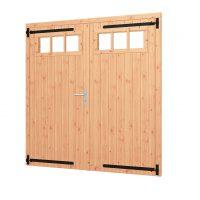 Opgeklampte deur dubbel | inclusief bovenraam