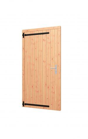 Opgeklampte deur enkel, kozijn 1015x2020mm