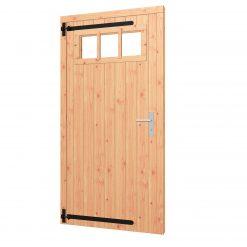 Opgeklampte deur enkel | inclusief bovenraam