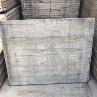 Hardhouten steenschot 110x140x4,5cm