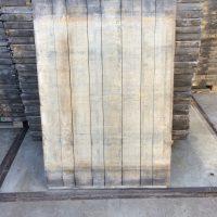 Azobe steenschot 95 x 140 x 5 cm