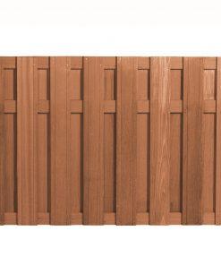 Bangkirai Hardhouten Tuinscherm 120x180cm