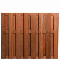 Bangkirai Hardhouten Tuinscherm 150x180cm