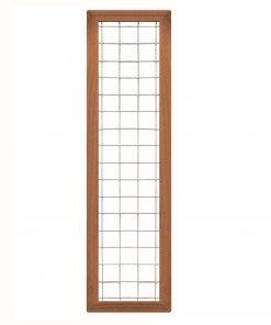 Bangkirai Hardhouten Trellisscherm 180x45cm