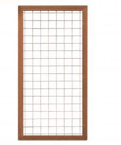 Bangkirai Hardhouten Trellisscherm 180x90cm