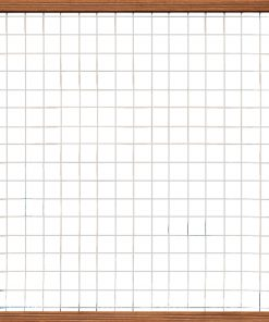 Bangkirai Hardhouten Trellisscherm 180x180cm