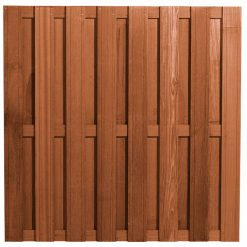 Bangkirai Hardhouten Tuinscherm 15 planks