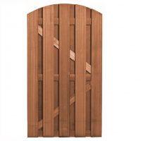 Bangkirai Hardhouten Toog deur 180 x 100 cm