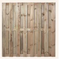Grenen Tuinscherm Jumbo 15-planks 180x180cm