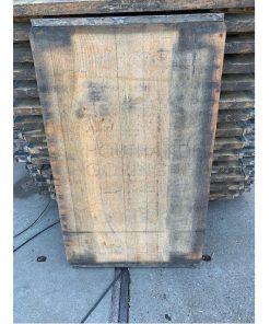 Lariks steenschot 75 x 124 x 4 cm