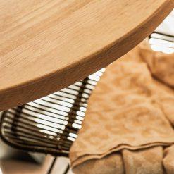 Eiken tafelblad Diameter rond 100 cm