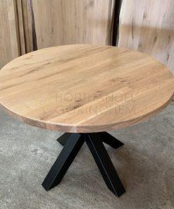 Eiken tafelblad Diameter rond 130 cm