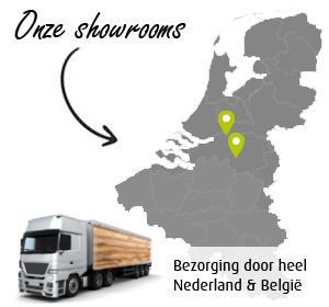 Snelle bezorging door heel Nederland en België