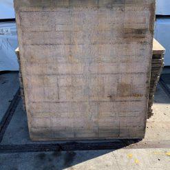 Lariks steenschot 110 x 130 x 4 cm