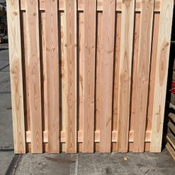 Douglas scherm fijnbezaagd 180 x 180 cm 19-planks